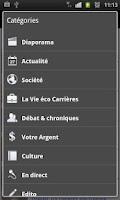 Screenshot of La Vie Eco