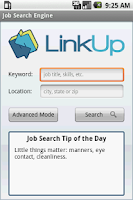 Screenshot of Job Search Engine