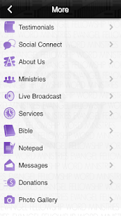 Evangel Fellowship COGIC - screenshot