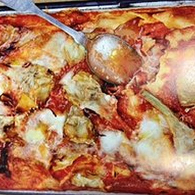 Artichoke and Ham Lasagne by Bill Granger
