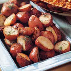 Skillet-Browned Potatoes with Fresh Dill