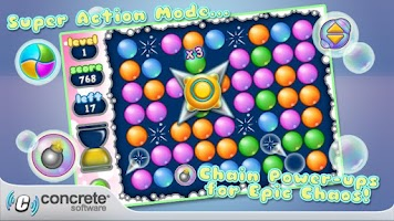 Screenshot of Aces Bubble Popper