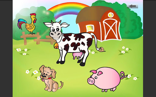 Tap animals for kids