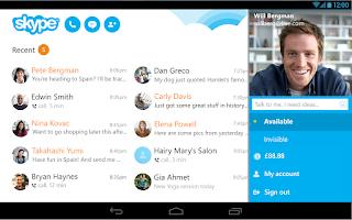 Screenshot of Skype - free IM & video calls