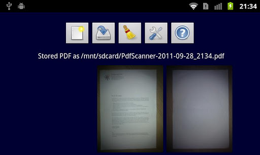 Easy Scan to PDF