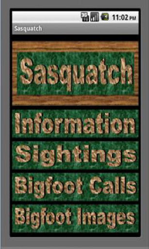 Sasquatch Bigfoot Calls