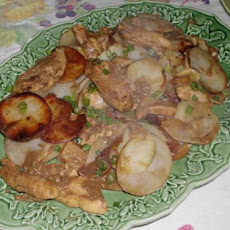Balsamic Mustard Chicken with Potatoes