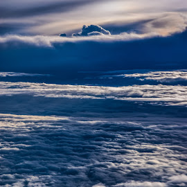 Sunrise view.  by Gazi Ahmed - Landscapes Cloud Formations ( clouds, bangladesh, airplane, sunrise, heavy )