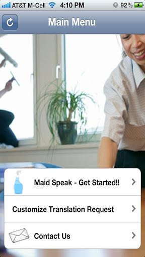Maid Speak