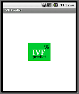 IVF-predict - screenshot