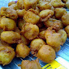 Batter-fried Cempedak (jackfruit)
