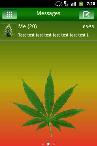GO短信PRO主題Ganja的主題 GO SMS PRO