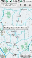 Screenshot of Kingdom Hall Locator