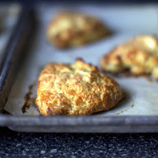 Apple and Cheddar Scones