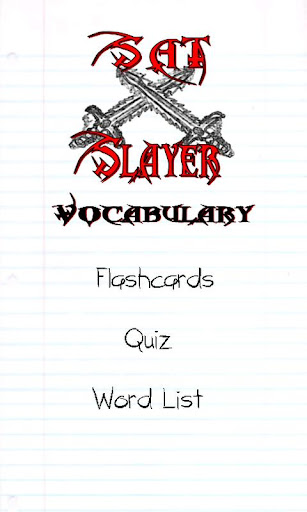 Sat Slayer - Vocabulary