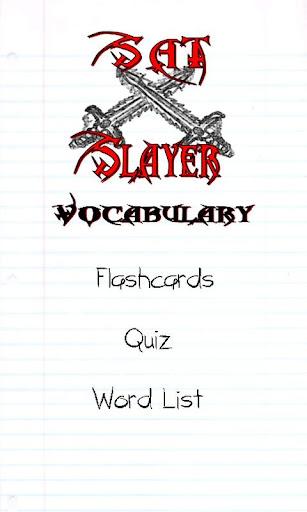 Sat Slayer - Vocabulary