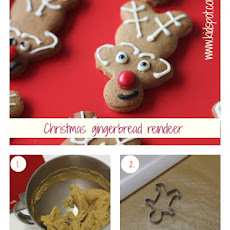 Christmas Gingerbread Reindeer