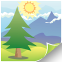 Vectorized Mountains LWP FREE icon