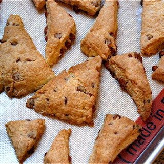 Cinnamon Chip Scones for Christmas morning