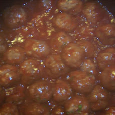 Mini-Meatballs in Cranberry Sauce