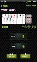Screenshot of Petri's Video Poker