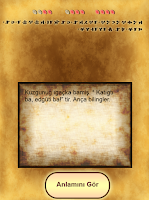 Screenshot of Irk Bitig