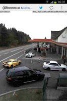 Screenshot of Nürburgring Live Lite