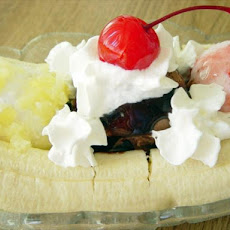Traditional Banana Split