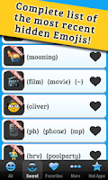 Screenshot of Secret Emoticons for Skype