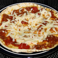 Pita Personal Pan Pizza