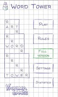 Screenshot of Word Tower Free (word game)