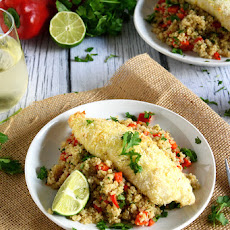Macadamia & Coconut Crusted Tilapia
