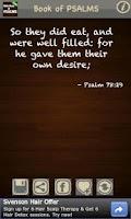 Screenshot of Book of Psalms (KJV) FREE!