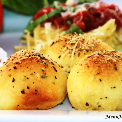 Meatball Stuffed Buns