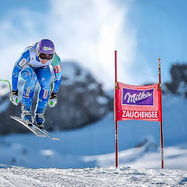 Blue by Jure Makovec - Sports & Fitness Snow Sports