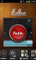 Screenshot of Rallee Walkie Talkie PTT