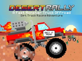 Screenshot of Desert Rally Racing Adventure