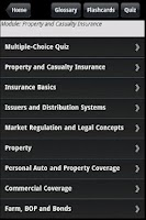 Screenshot of Property & Casualty Agent Prep