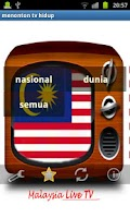 Screenshot of Malaysia TV Live watch