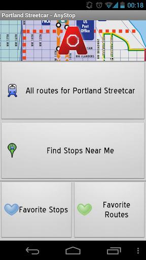 Portland Streetcar: AnyStop