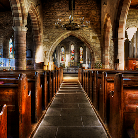 Lindisfarne Church by Don Alexander Lumsden - Buildings & Architecture Places of Worship (  )