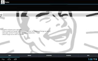 Screenshot of Piadas muito engraçadas