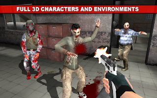 Screenshot of The Dead Town: Walking Zombies