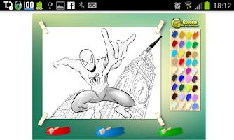 Screenshot of Jogos de Super Heróis