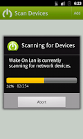 Screenshot of Wake on Lan - with Widget