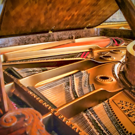 Old Piano by Foto Woz - Novices Only Objects & Still Life ( piano, old piano, museum, music instrument, olympus )