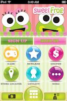 Screenshot of sweetFrog