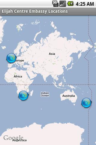 【免費社交App】EC Embassy Locator-APP點子