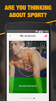 Screenshot of My Coach - Workout trainer