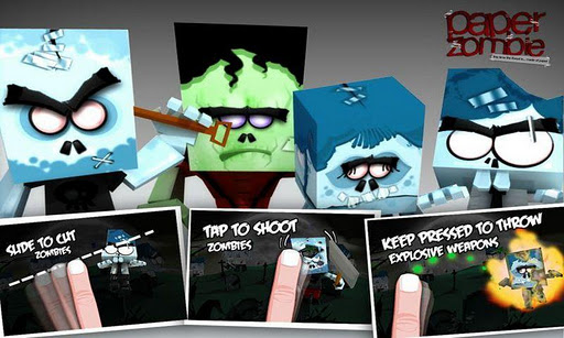 paper-zombie for android screenshot